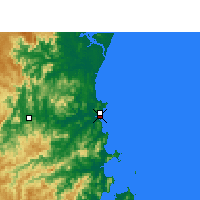 Nearby Forecast Locations - Itajaí - Kaart