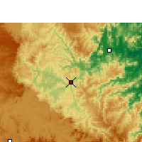 Nearby Forecast Locations - Rio do Sul - Kaart