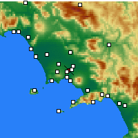 Nearby Forecast Locations - Afragola - Kaart