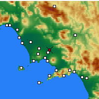 Nearby Forecast Locations - Acerra - Kaart