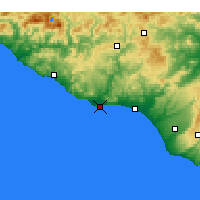 Nearby Forecast Locations - Licata - Kaart