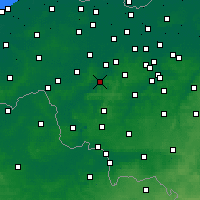Nearby Forecast Locations - Oudenaarde - Kaart