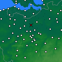 Nearby Forecast Locations - Lokeren - Kaart