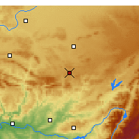 Nearby Forecast Locations - Almagro - Kaart