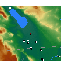 Nearby Forecast Locations - Brawley - Kaart