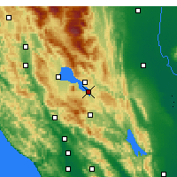 Nearby Forecast Locations - Clearlake - Kaart