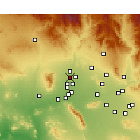 Nearby Forecast Locations - Surprise - Kaart